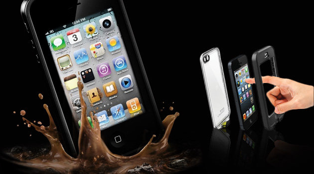 ¡Protege tu Iphone mientras disfruta de la playa o piscina! Por solo RD$950 en vez de RD$2,500 obtienes un lifeproof del cases para Iphone 4/4S y 5 en [CR Group]